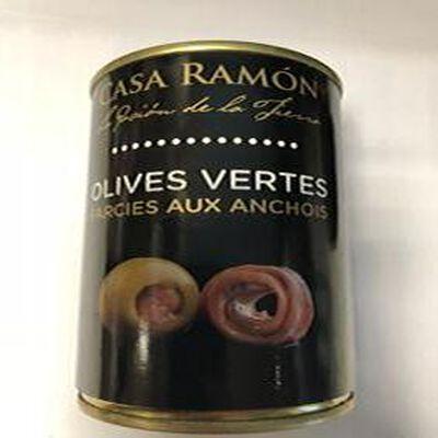 Olives Vertes Farcies aux Anchois 120g
