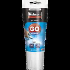 Mastic GO JE JOINTE RUBSON, sanitaire, 50ml, transparent