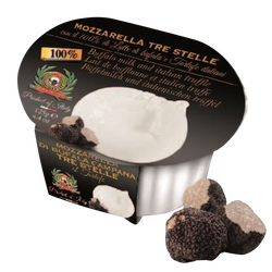 Mozzaella di buffala truffe au lait pasteurisé de bufflonne, 23% de MG, 125g