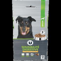 Croquette premium pour chien sensibilité digestive et poulet et riz U,4kg