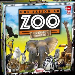 """Lansay - Une saison au zoo """"le jeu du soigneur"""" - Dès 6 ans"""