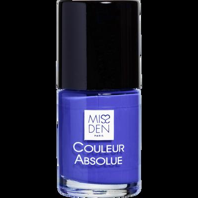Vernis bleu electrique, MISS DEN