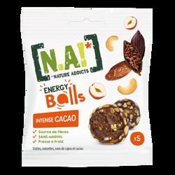 N.A! energy balls cacao intense, 40g
