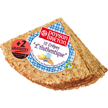 Paysan Breton Crêpes L'authentique , Paquet De 12+2gratuits, 432g