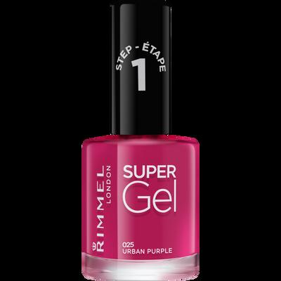 Vernis à ongle super gel urban purple 025 nu RIMMEL, 12ml