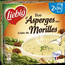 Soupe duo d'asperges aux éclats de morilles LIEBIG 2x30cl