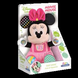 Clementoni - Peluche d'activités Baby Minnie - Dès 6 mois