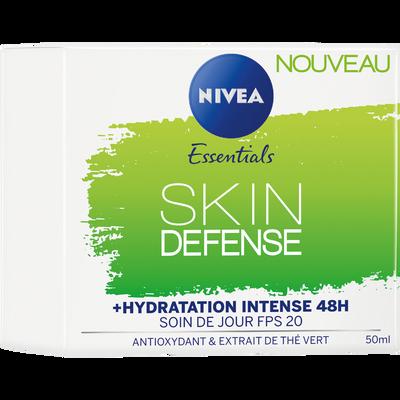Soin jour skin défense fps20 pnm NIVEA visage, tube de 50ml