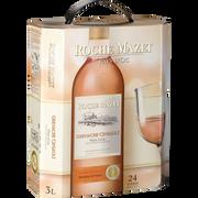 Roche Mazet Vin Rosé Igp De Pays D'oc Cinsault Grenache Roche Mazet, Fontaine À Vin De 3l