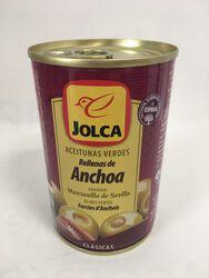 Jolca - Olives Vertes farcies aux Anchois - 300G