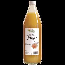 Jus d'orange LA SOURCE DU VERGE, bouteille 1l