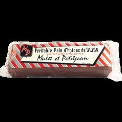 Pain d'épices de Dijon MULOT ET PETITJEAN, 400g