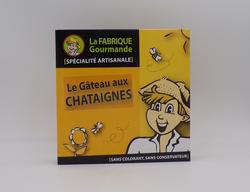 Le Gâteau aux chataignes LA FABRIQUE GOURMANDE boîte de 220g