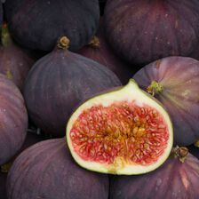 Figue fraiche violette de Caromb, France, barquette 500g