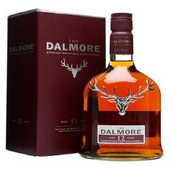Single malt scotch Whisky THE DALMORE 12 Years 70cl 40%vol