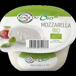 Mozzarella bio lait pasteurisé, 17%mg, 125g