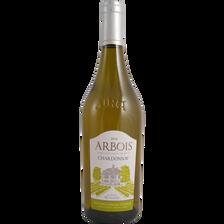 Vin blanc Arbois Chardonnay AOP, bouteille de 75cl