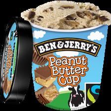 Crème glacée peanut butter cup BEN&JERRY'S, 431g