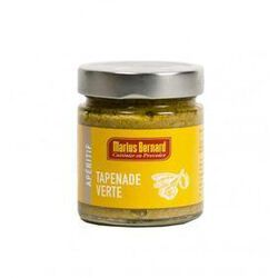 Tapenade d'olives vertes, MARIUS BERNARD, pot de 200g.