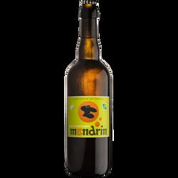 Bière de Printemps MANDRIN 4,8°, bouteille 75cl
