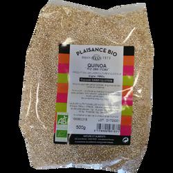 Quinoa blanc bio PLAISANCE BIO, 500g