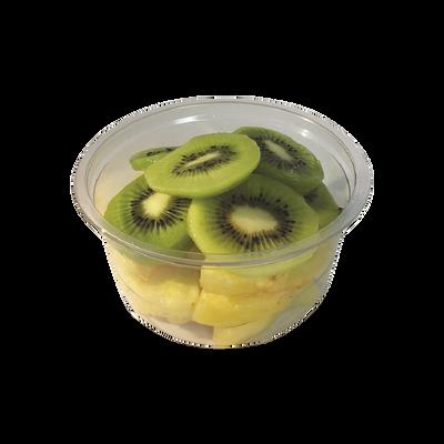 Duo ananas/kiwi, barquette, 250g