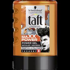 Gel coiffant Maxx Fixation Power TAFT, tube de 300ml