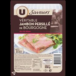 Véritable jambon persillé de Bourgogne supérieur U SAVEURS, 200g