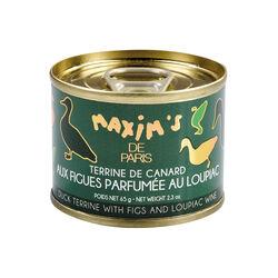 Terrine de canard aux figues et loupiac MAXIM'S DE PARIS BY EPICURE Sélection