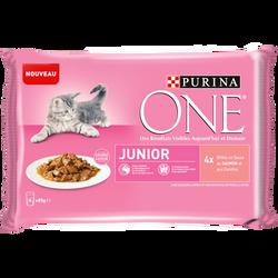 ONE CHAT junior sachet 4x85g