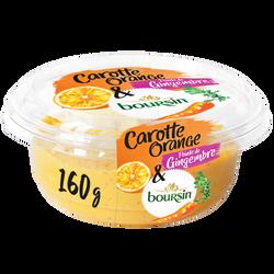 Tartinable carotte, agrume et fromage BOURSIN 160g