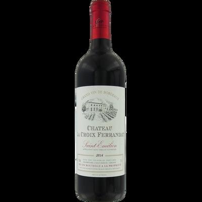 Vin rouge Saint Emilion AOP Château La Croix Ferrandat, bouteille de 75cl