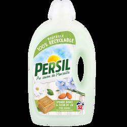 Lessive liquide amande pour peaux sensibles PERSIL, 52 lavages soit 2,60 li tres