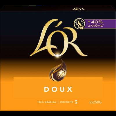 Café moulu L'Or Doux paquets 2x250g soit 500g