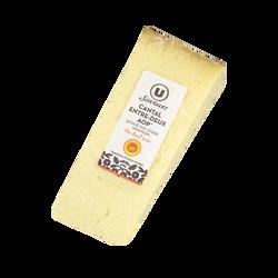 Cantal AOP entre deux au lait cru 33%mg U SAVEURS 110 jours 220G
