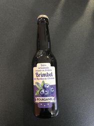 Bière myrtille BOURGANEL  33CL