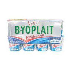 Yaourts brassés natures B-YOPLAIT, 16x125g