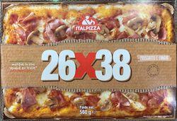 PIZZA PROSCIUTTO E FUNGHI, 560G