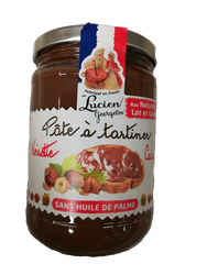 PATE TART.NOIS/CACAO GEOR.600G