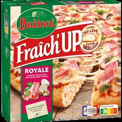 Pizza fraich'up royale jambon fromage et champignons BUITONI, 600g