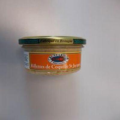 rillettes de coquille saint jacques CRUSTARMOR 90G