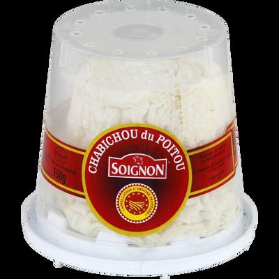 Chabichou du Poitou AOP SOIGNON, 25%MG, 150g