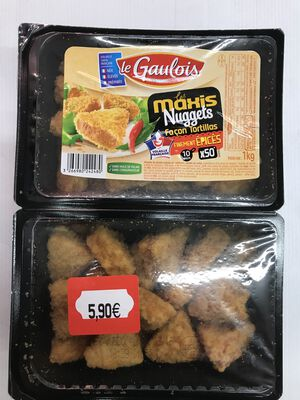 NUGGETS FACON TORTILLAS