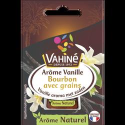 Arôme naturel de vanille avec grains VAHINE, flacon de 20ml