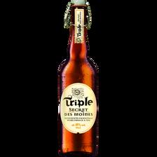 Triple Bière, Secret Des Moines, , Bouteille De 75cl