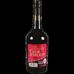 Apéritif Coeur d'Arlicot POIRE D'OLIVET, 17°, bouteille de 75cl