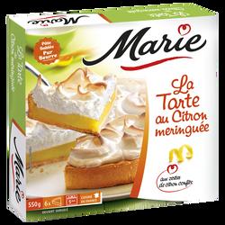 Tarte citron meringuée MARIE, 550g