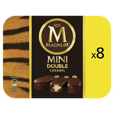 Mini MAGNUM double caramel, x8