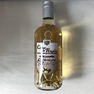 Boisson aromatisée à base de vin Blanc chataigne d'Ardeche VIN ET FRUITS
