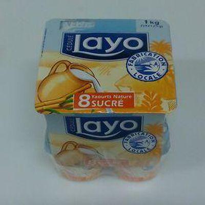 LAYO NATURE SUCRE 8X125G